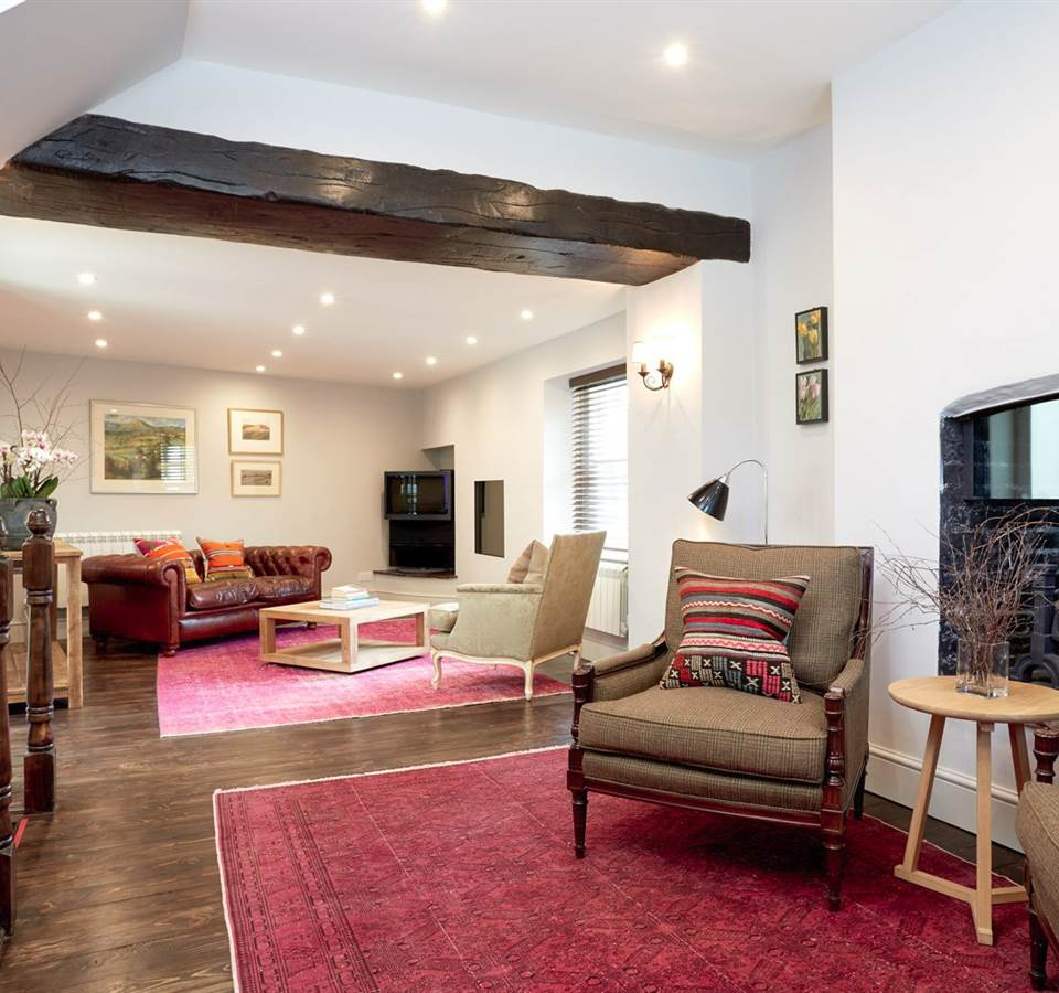 living room at No. 17 Cottage Holiday Homes Abergavenny
