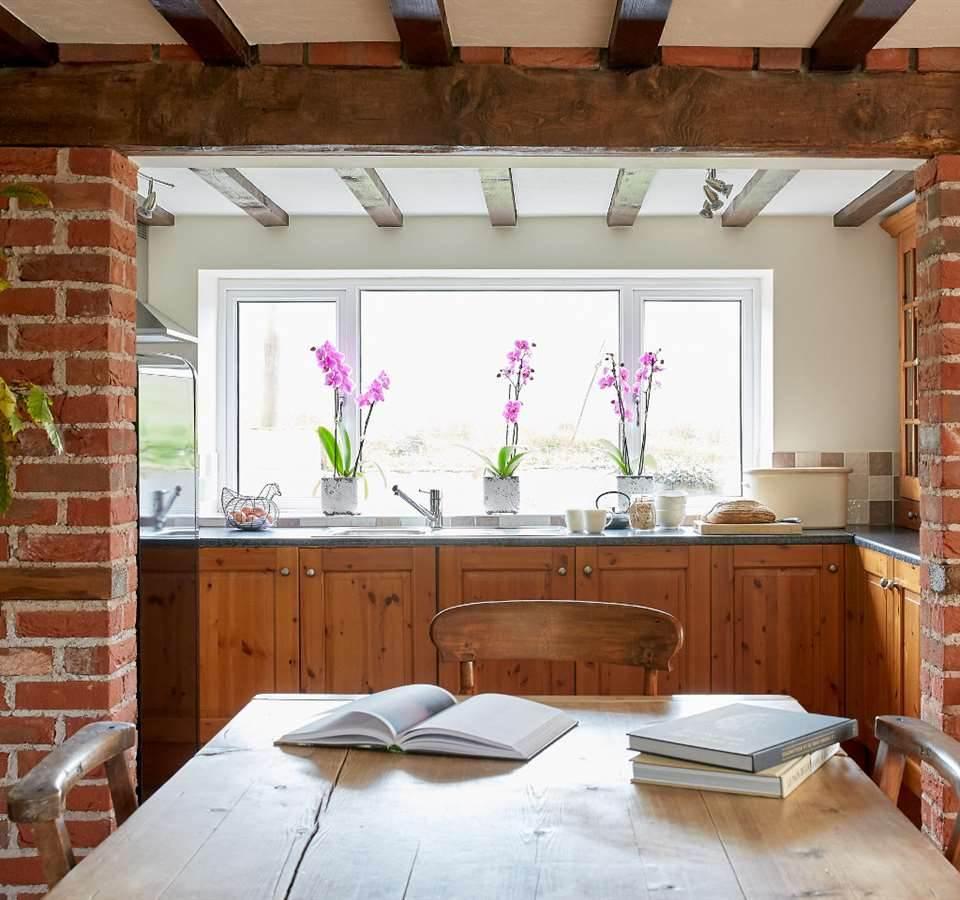 Kitchen Ivy Cottage Llanddewi Skirrid, Abergavenny