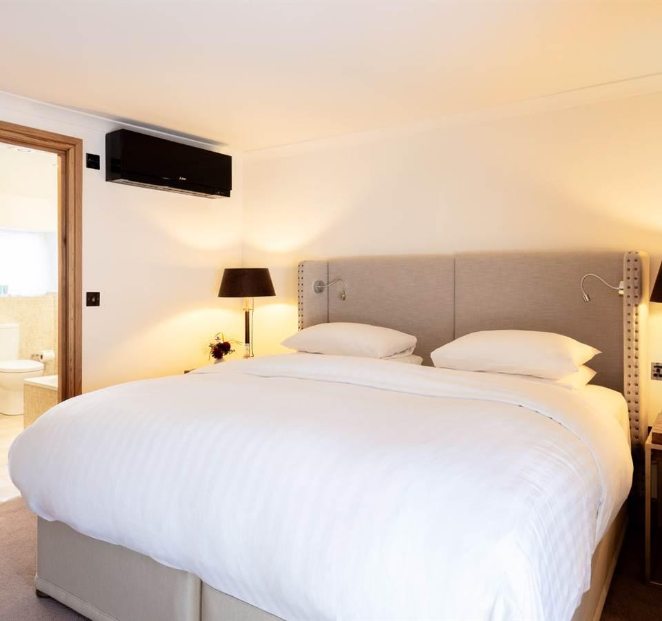 Bedroom at Sugarloaf cottage family holidays wales