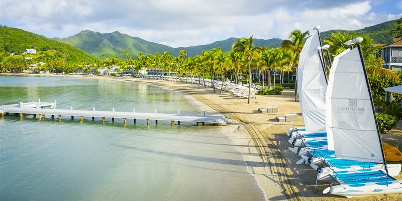 Carlisle Bay Antigua voted Top 8 Caribbean Resort by Condé Nast Traveler Readers