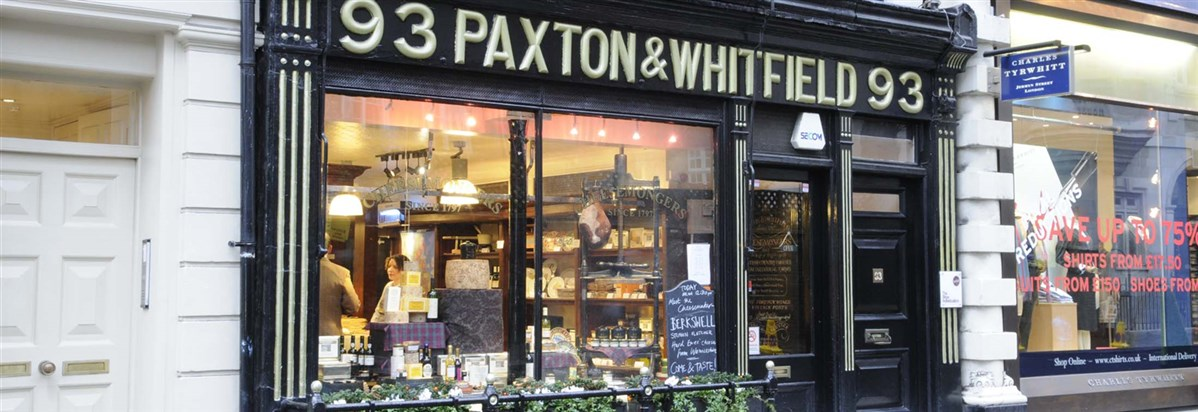 Paxton and Whitefield London Shopping on Jermyn Street