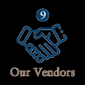 9 Our Vendors