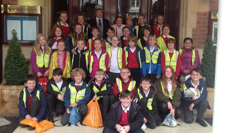 Woodfall Primary School Pupils Get a Taste of the High Life