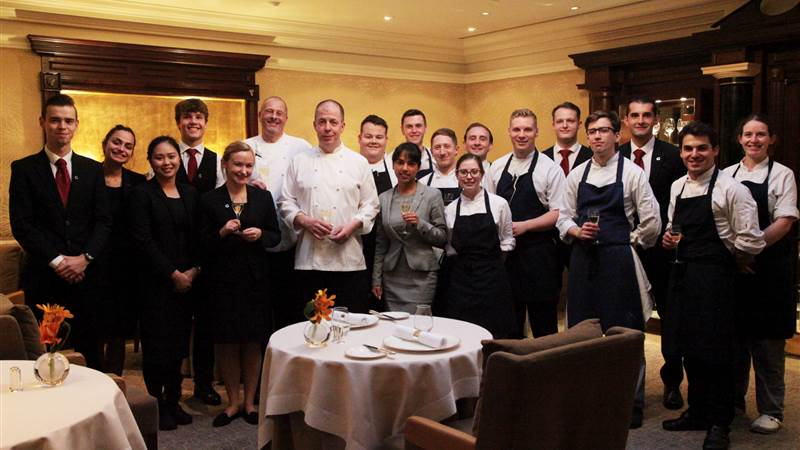 30 consecutive years of Michelin Star status for Simon Radley at The Chester Grosvenor