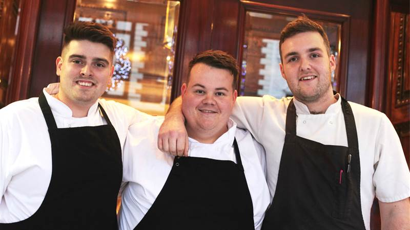 Three Talented Chefs at The Chester Grosvenor Earn Places in National Chef of Wales Finals.