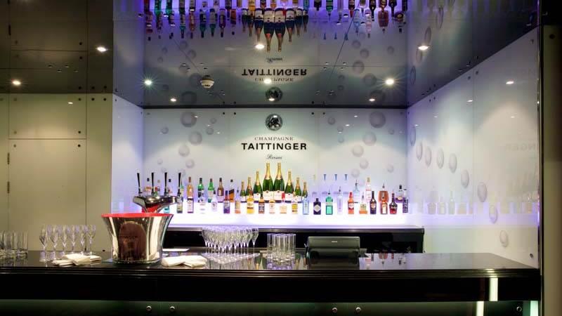Taittinger hotel bar at Chester Grosvenor