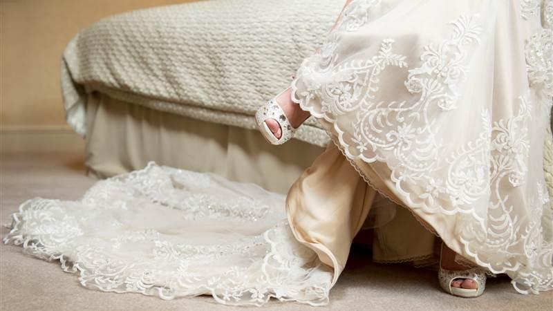 wedding dress trends at Chester Grosvenor