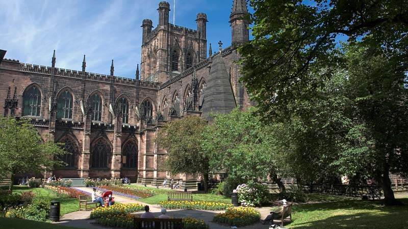 Chester Cathedral is one of the many things to do in Chester