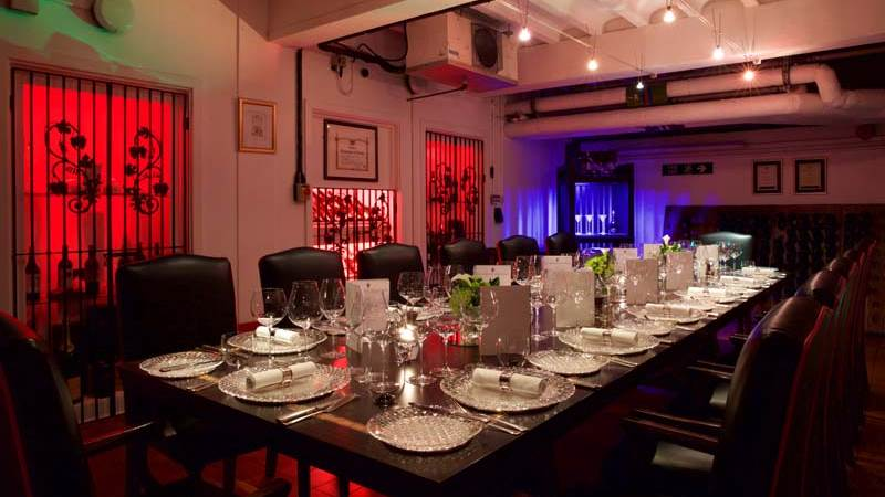The Riedel Cellar  provides an unforgettable wine dining experience.
