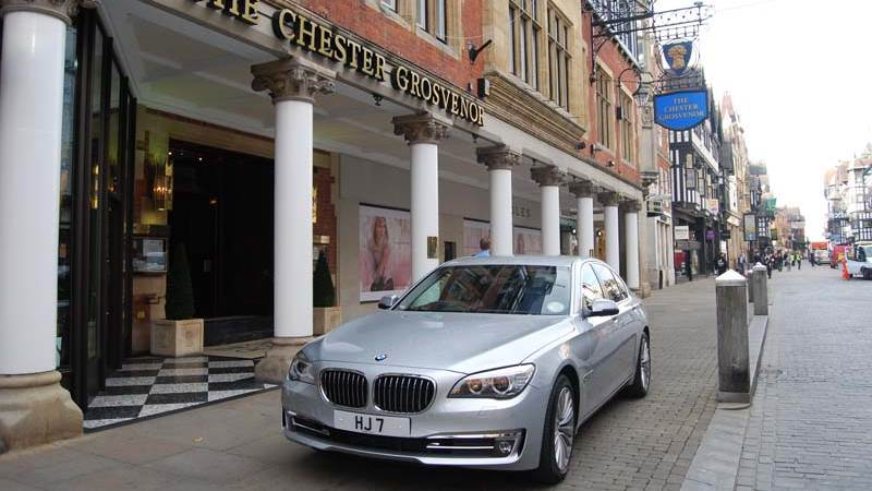 The Chester Grosvenor Chauffeur Service Provides this BMW