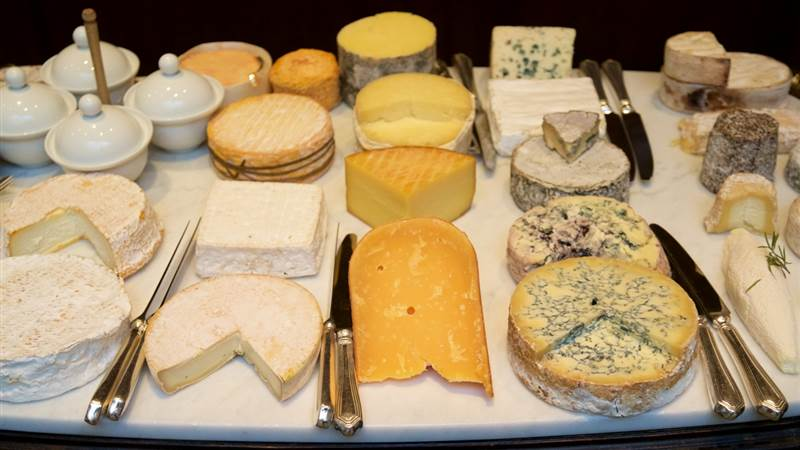 Luxury Cheese Platter at Simon Radley Restaurant
