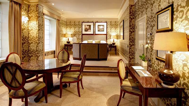 Deluxe Suite Accommodation at The Chester Grosvenor