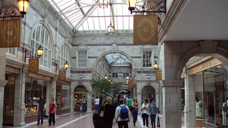 Grosvenor shopping centre Chester