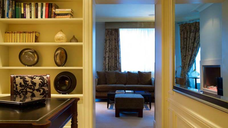 Luxury presidential suite at The Chester Grosvenor