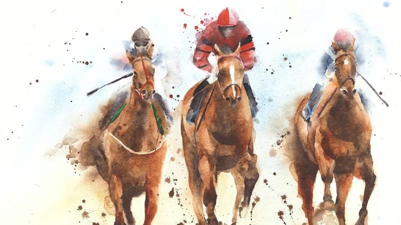 Racehorse sketch