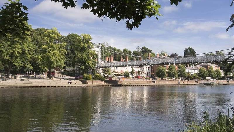 River Dee tourist attraction in Chester