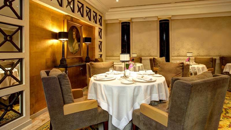 Image of  the Simon Radley Restaurant layout