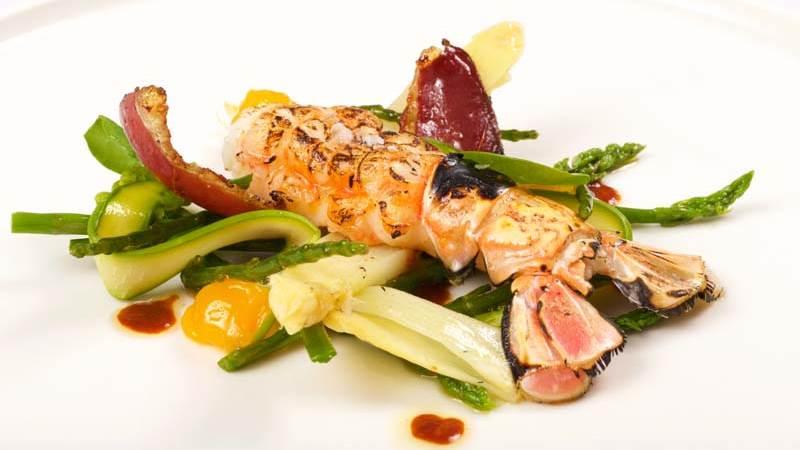 Simon Radley Fish Salad Dish