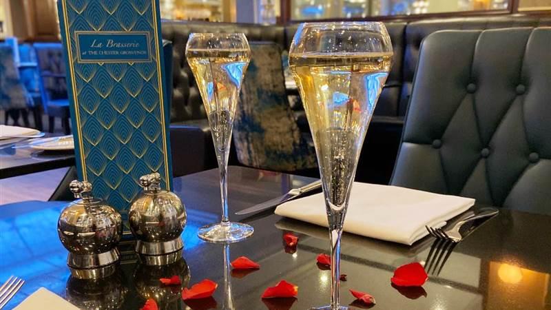Valentine's Dinner at La Brasserie
