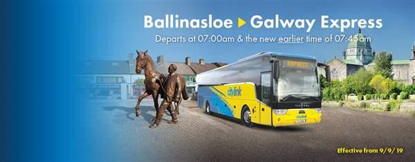 ballinasloe to Galway Express