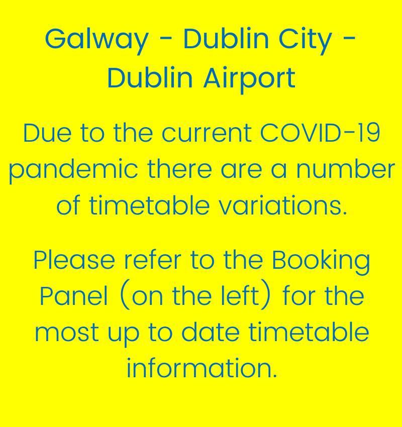 Galway - Dublin City Non-Stop Express - Route 660 & 761