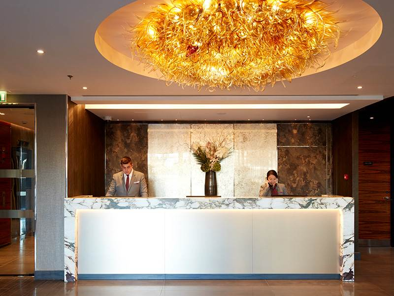 Crowne Plaza Reception Desk