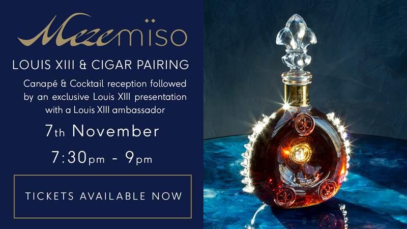 Louis XIII & Cigar Pairing