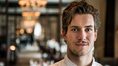 Head chef Andreas Bagh
