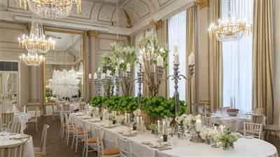 Wedding in Palm Court
