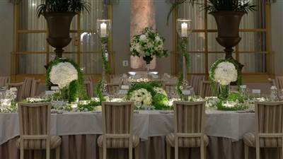 Wedding in Palm Court