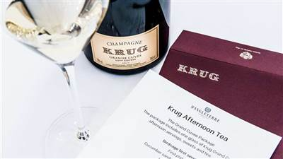 Krug Afternoon Tea