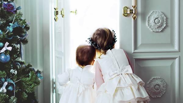 Christmas for the children  dAngleterre