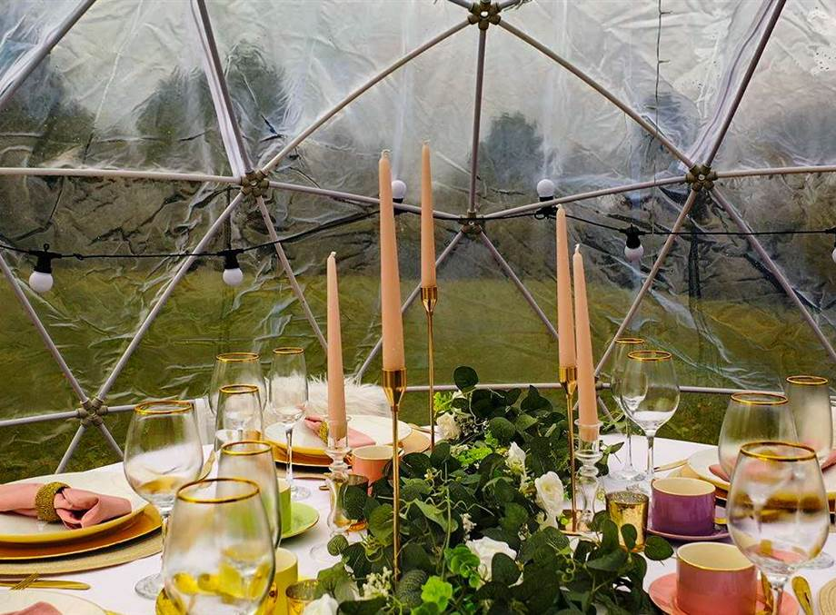 BUBBLE DINING From £335