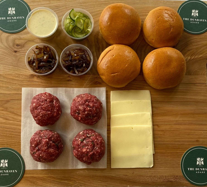 The Dunraven Burger Kits