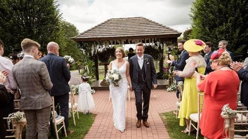 A Clonakilty Summer Garden Party Wedding at Fernhill House - Colleen & Simon