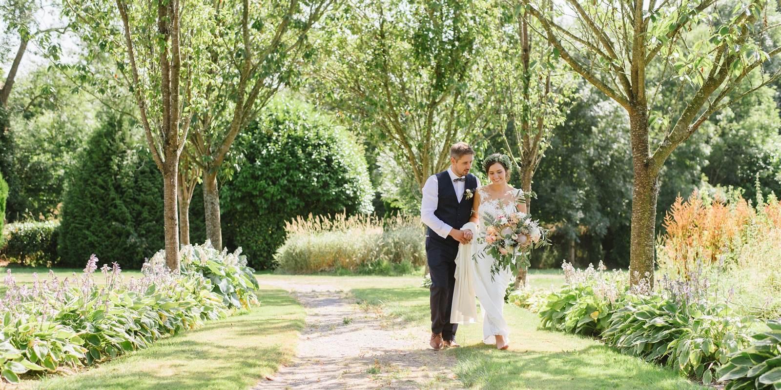 Fernhill Wedding Garden Images