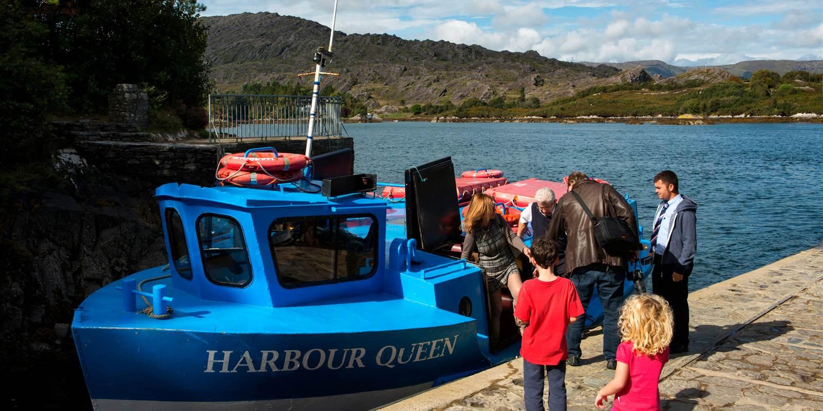 Ferry Trip to Garnish Island