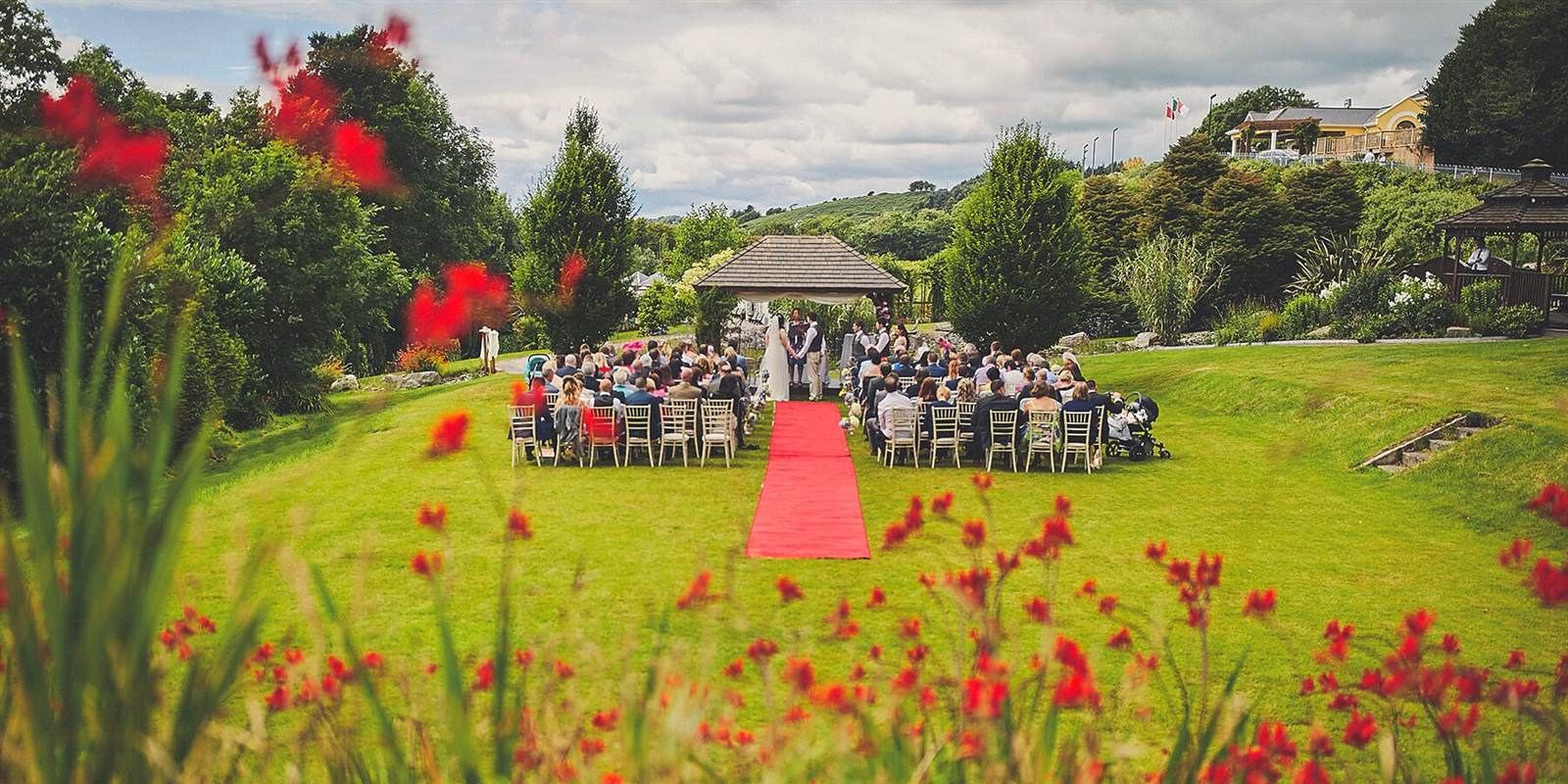 Outdoor Wedding Ceremony at Fernhill