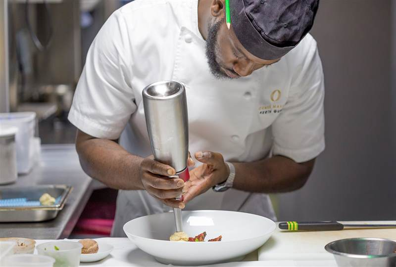 10 questions for Head Chef and Great British Menu Finalist Kerth Gumbs