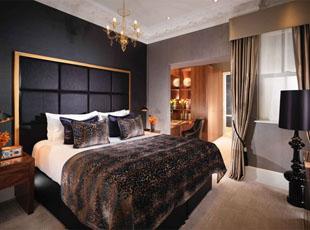 One Bed Suite Bedroom