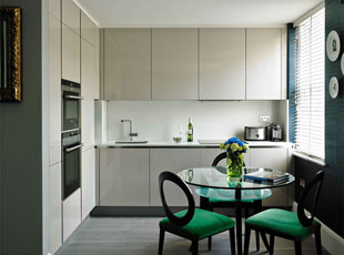 One Bed Apartment Kitchen