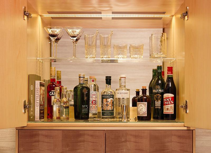 Studio Suite Gin Bar