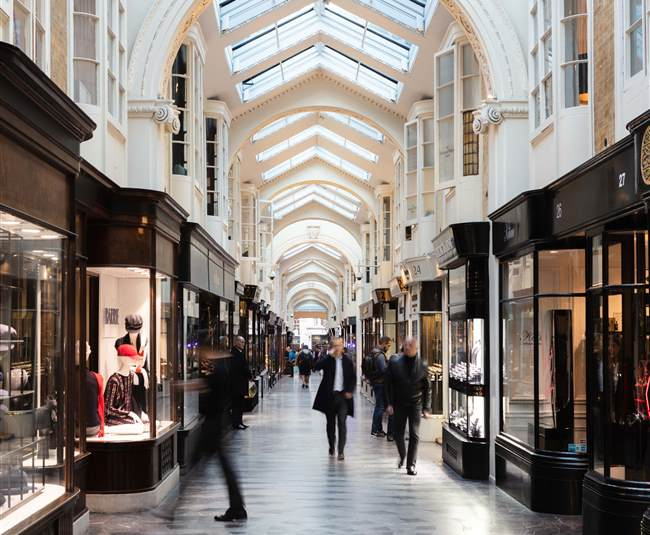 Burlington Arcade inside 1
