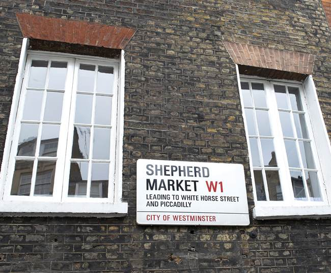 Shepherd Market  Mayfair