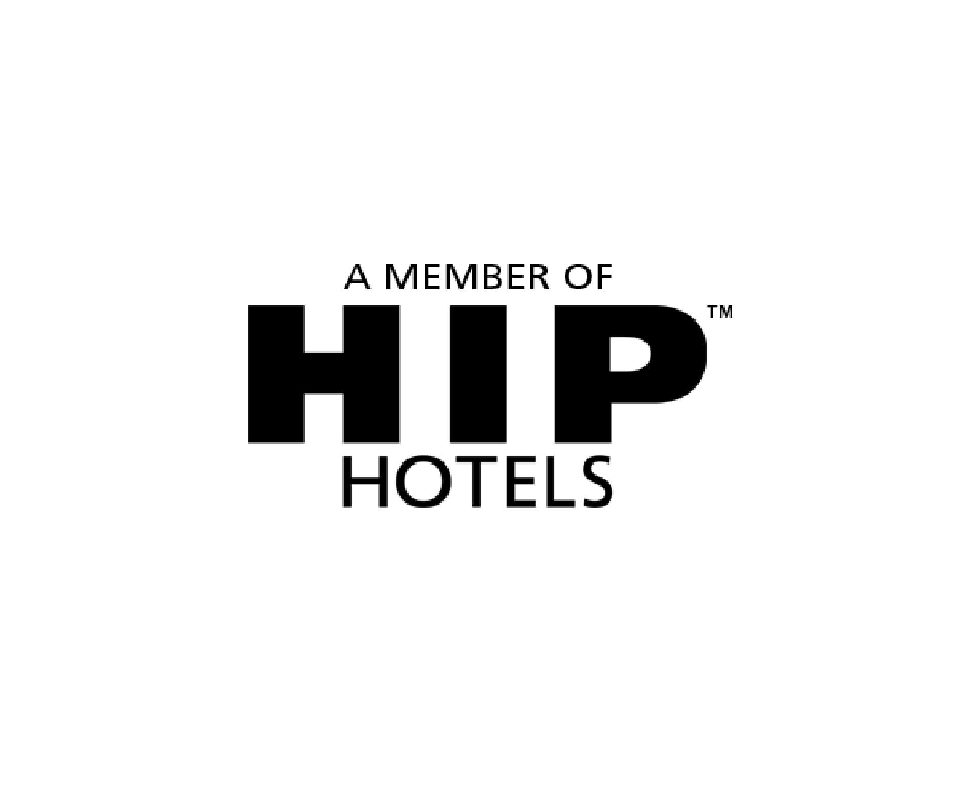 HIP Hotels Logo Black