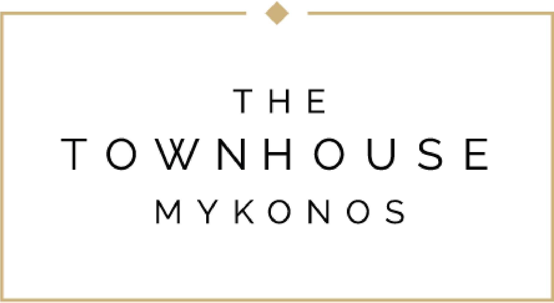 Townhouse Mykonos  white background
