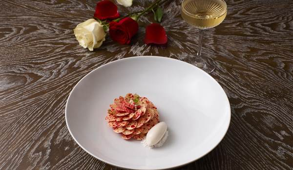 Ormer Mayfair Chocolate Rose Valentines