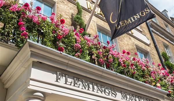 The Flemings entrance detail 1