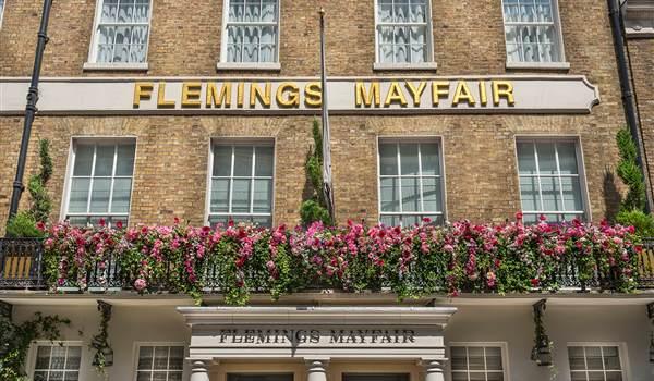 The Flemings entrance detail 2