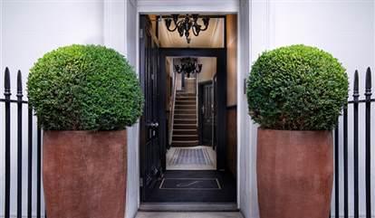 Mayfair Townhouse entrance